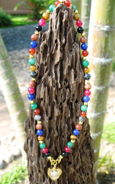 Multi Beads Amulet Chains