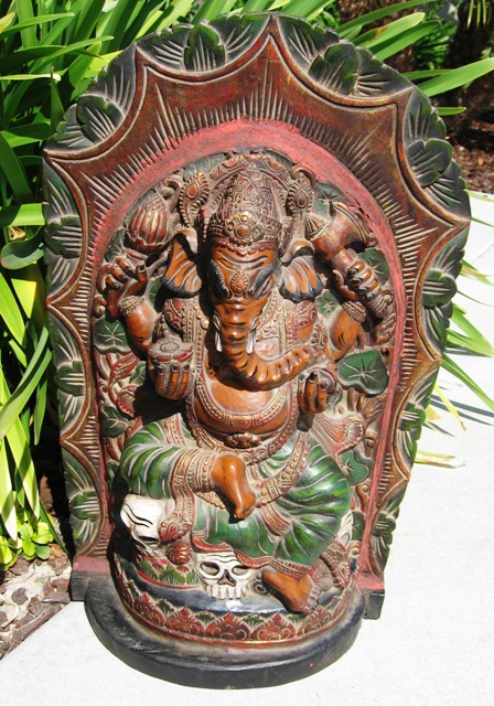 Wall Hanging Ganesh from Bali
