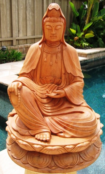 Seated Guan Yin from Vietnam