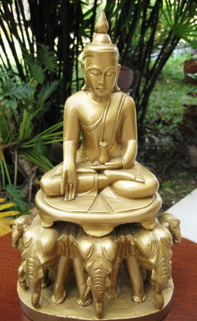 Gold Buddha from Myanmar