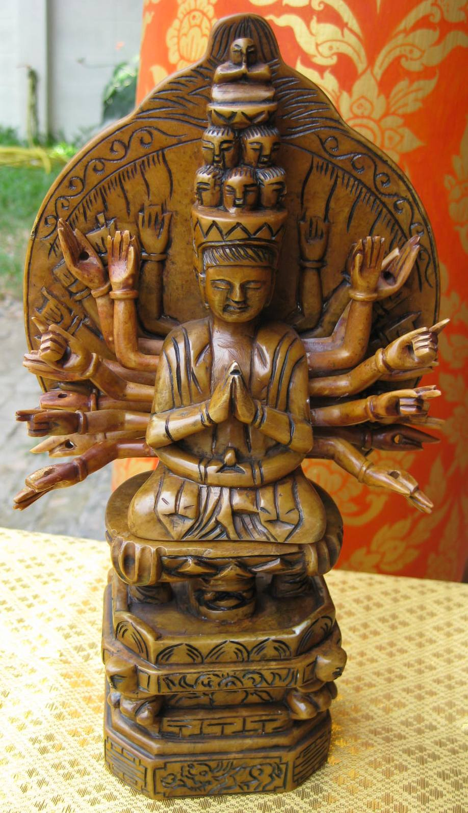Thousand Arm Avalokateshwara God of Compassion