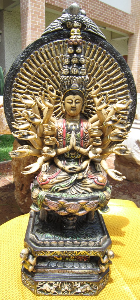 A Thousand Arm God of Compassion Avalokateshwara