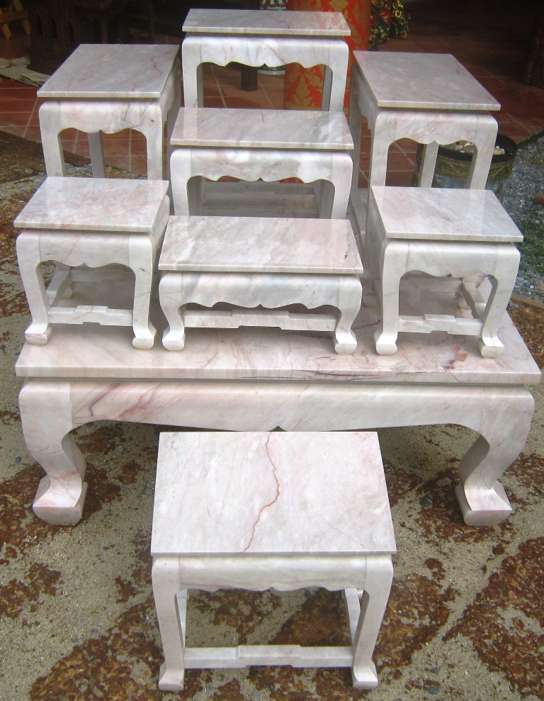 Marble Altar Table set