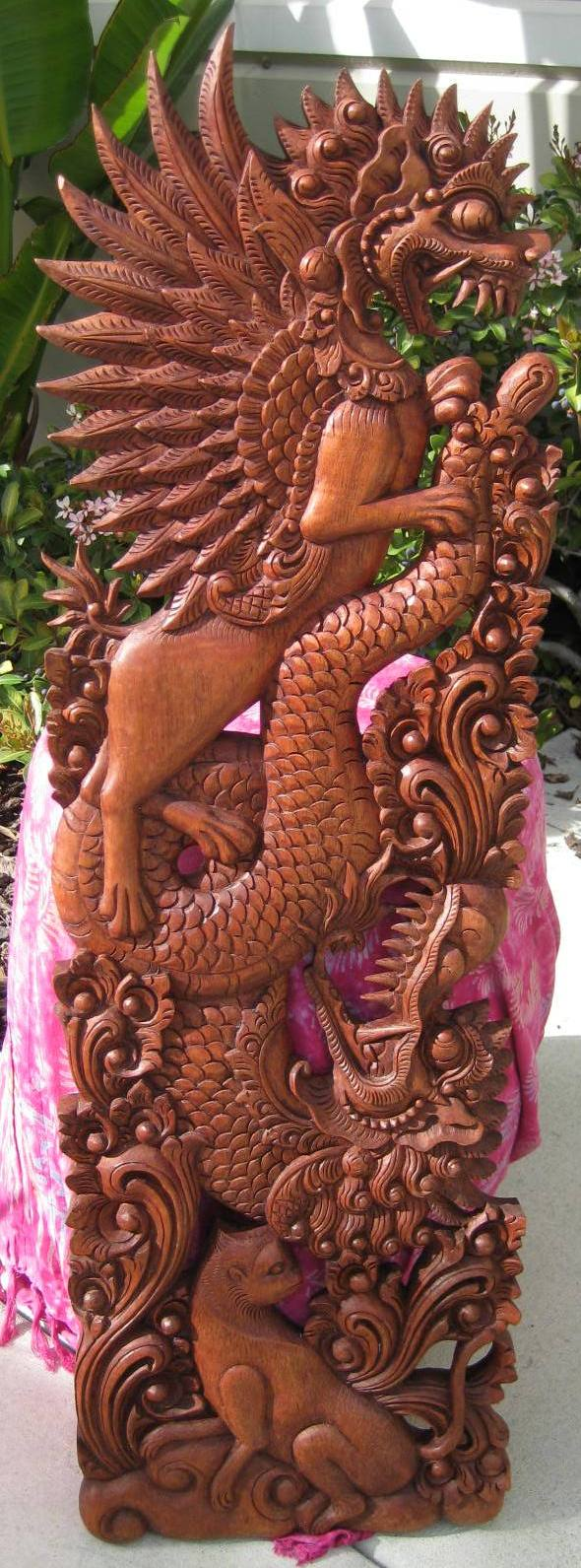 Bali Dragon Panel